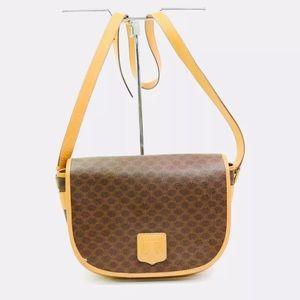 Authentic Celine Macadam Crossbody Bag